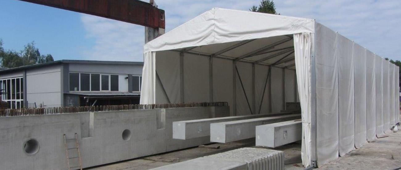 Hallar och tält – Coverhall As